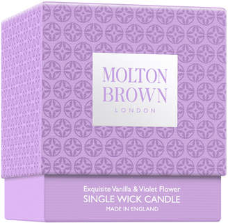 Molton Brown London 6.3Oz Exquisite Vanilla & Violet Flower Single Wick Candle