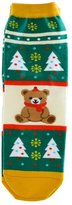 Pooqdo(TM) 3D Cartoon Christmas Snowman Socks Women Cotton Socks Floor