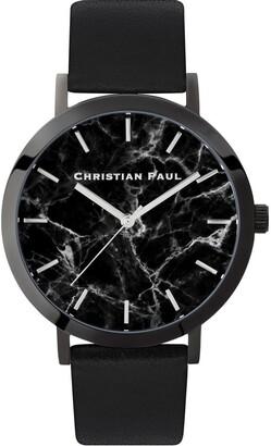 Christian Paul Marble Black Watch