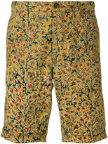 Incotex floral print chino shorts - men - Cotton - 31