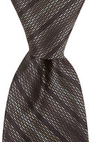 Murano Big & Tall Wonder Stripe Traditional Silk Tie