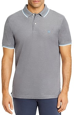 Brooks Brothers Tipped Oxford Slim Fit Polo Shirt