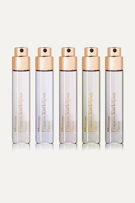 Francis Kurkdjian Oud Fragrance Wardrobe, 5 X 11ml - Colorless