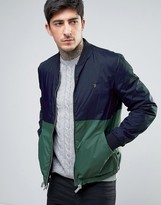 Farah Ripon Reversible Bomber Jacket 2 Color in Navy