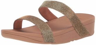 FitFlop Women's Lottie Glitzy Slide Sandal