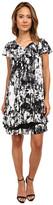 Kensie Watercolor Tie-Dye Dress KS8K7647