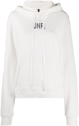 Unravel Project Chest Logo Hoodie