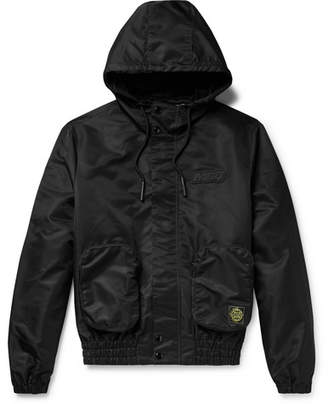 McQ Logo-Appliqued Nylon Hooded Jacket