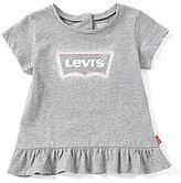 Levi's s Baby Girls 12-24 Months Peplum Tee