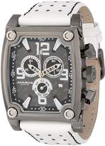 Akribos XXIV Men's AK415WT Conqueror Swiss Quartz White Chronograph Watch