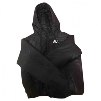 Nike Black Cotton Jackets