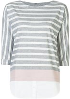 Bogner striped blouse - women - Cotton - 34