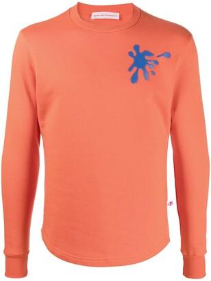 Walter Van Beirendonck Pre-Owned Spot Sweat long-sleeved T-shirt