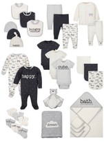 Wonder Nation Baby Boy or Girl Gender Neutral Shower Layette Gift Set, 31pc