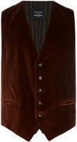 Tagliatore classic waistcoat - men - Cotton/Spandex/Elastane/Cupro/Viscose - 48