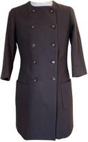 Ballantyne Grey Wool Coat for Women
