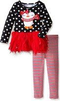 Bonnie Jean Little Girls' Penguin Tutu Playwear Set