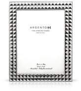 "Bloomingdale's Argento SC 4 x 6"" Double Stud Frame"