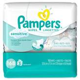 Pampers 168-Count Sensitive Baby Wipes 3x Travel Pack