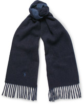 Polo Ralph Lauren - Two-tone Wool-blend Scarf