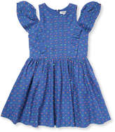 Nellystella Little Girl's Cold-Shoulder Flare Dress