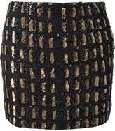 Antik Batik embellished mini skirt