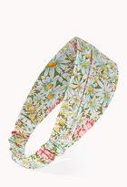Forever 21 Prairie Floral Headwrap