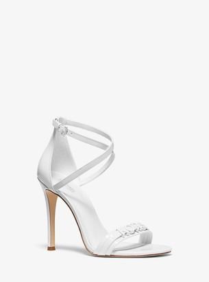 MICHAEL Michael Kors Goldie Patent Leather Sandal