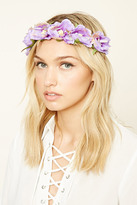Forever 21 FOREVER 21+ Faux Suede Flower Crown