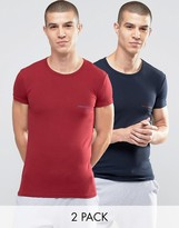 Emporio Armani T-shirt In Extreme Muscle Fit 2 Pack