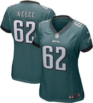 Nike Women's Jason Kelce Midnight Green Philadelphia Eagles Game Jersey