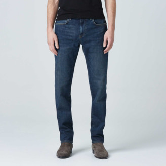 DSTLD Mens Slim Jeans in Dark Worn