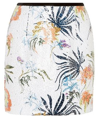 BLOUSE Mini skirt