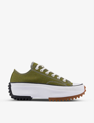 Converse Run Star Hike low-top canvas trainers