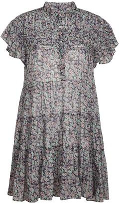 Etoile Isabel Marant Lanikaye Cotton Voile Mini Dress
