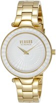 Versus By Versace Women's SQ1070015 SERTIE Gold Ion-Plated Bracelet Watch