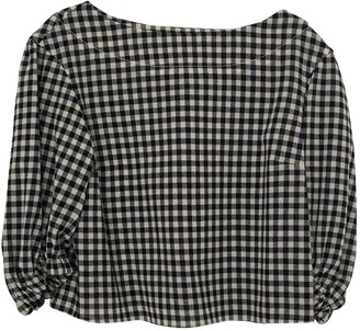 Sonia Rykiel Navy Wool Top for Women