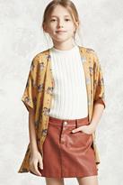 Forever 21 Girls Elephant Kimono (Kids)