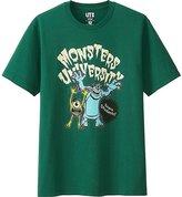 Uniqlo Men Pixar Collection Short Sleeve Graphic T-Shirt