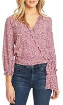 1 STATE Tied Ditsy Floral Blouse