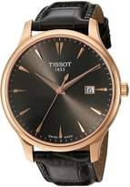 Tissot Women's T0636103608600 Tradition Analog Display Swiss Quartz Grey Watch