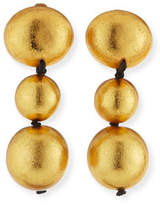 Viktoria Hayman Triple-Drop Clip-On Earrings