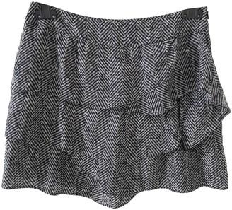 Max & Co. Anthracite Silk Skirt for Women