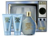 Diesel Fuel For Life Denim Collection Femme Coffret: Edt 50ml/1.7oz+ Shower Gel 50ml/1.7oz+ Body Lotion 50ml/1.7oz+ Edt Pour Ho