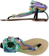 Fisico Toe strap sandals - Item 44791755