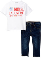 Diesel Tee & Jean 2-Piece Set (Baby Boys)