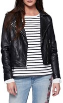 Sanctuary Women's Ophelia Moto Leather Jacket