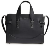 Marc Jacobs The Rivet Leather Satchel - Black