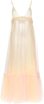 Viktor & Rolf Surfin' Safari ruffled tulle dress