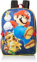 Nintendo Little Boys Mario Backpack with Lunch
